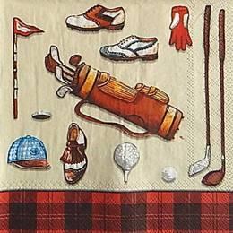 12981. Все для гольфа на красном