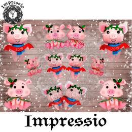 14890. Декупажная карта Impressio, плотность 45 г/м2
