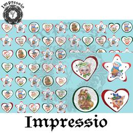 14891. Декупажная карта Impressio, плотность 45 г/м2