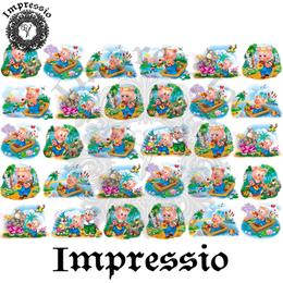 14893. Декупажная карта Impressio, плотность 45 г/м2