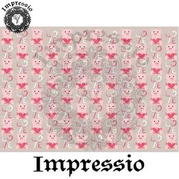 14898. Декупажная карта Impressio, плотность 45 г/м2