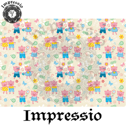 14907. Декупажная карта Impressio, плотность 45 г/м2
