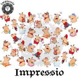 14915. Декупажная карта Impressio, плотность 45 г/м2