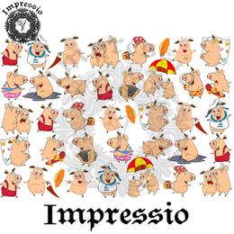 14916. Декупажная карта Impressio, плотность 45 г/м2