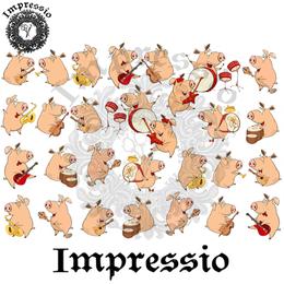 14918. Декупажная карта Impressio, плотность 45 г/м2