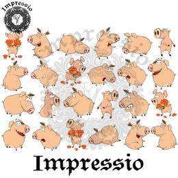 14919. Декупажная карта Impressio, плотность 45 г/м2