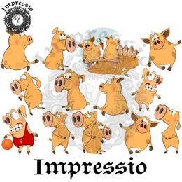 14920. Декупажная карта Impressio, плотность 45 г/м2