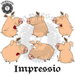 14925. Декупажная карта Impressio, плотность 45 г/м2