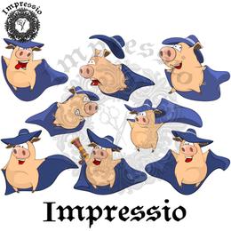 14931. Декупажная карта Impressio, плотность 45 г/м2