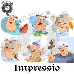 14945. Декупажная карта Impressio, плотность 45 г/м2