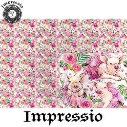 14966. Декупажная карта Impressio, плотность 45 г/м2