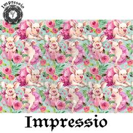 14967. Декупажная карта Impressio, плотность 45 г/м2