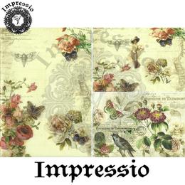 15550. Декупажная карта Impressio, плотность 45 г/м2