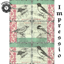 15560. Декупажная карта Impressio, плотность 45 г/м2