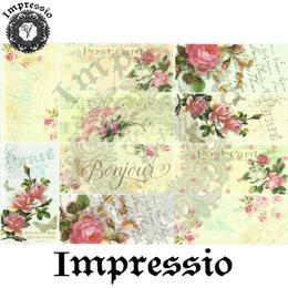 15572. Декупажная карта Impressio, плотность 45 г/м2