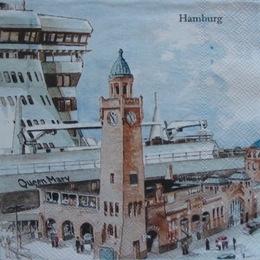 1717. Гамбург. 5 шт., 23 руб/шт