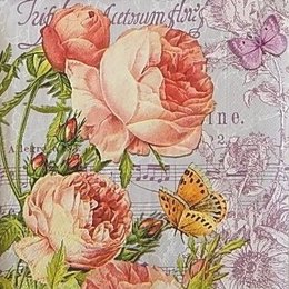20052. Розы на нотах