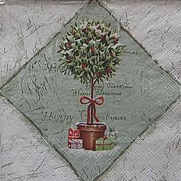 20080. Рождественский топиарий. 5 шт., 20 руб/шт