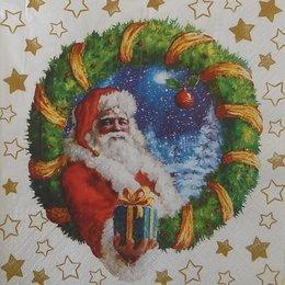 20097. Санта Клаус с подарками