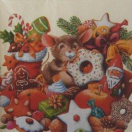 20124. Мышка в подарках