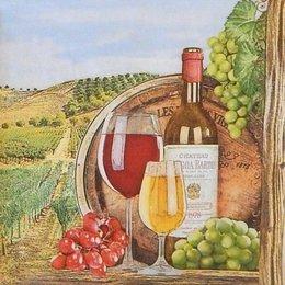 20194. Натюрморт с вином. 5 шт., 20 руб/шт