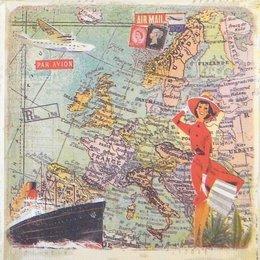 20197. Круиз по Европе. 10 шт., 18 руб/шт