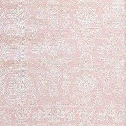24001. Узор на розовом
