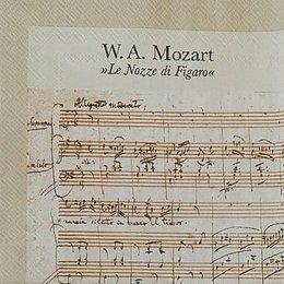24013. Ноты Моцарта. 5 шт., 20 руб/шт