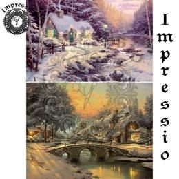 25062. Рисовая декупажная карта  Impressio,  25  г/м2.