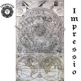 26038. Рисовая декупажная карта  Impressio,  25  г/м2.
