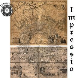 26039. Рисовая декупажная карта  Impressio,  25  г/м2.