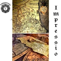 26043. Рисовая декупажная карта  Impressio,  25  г/м2.