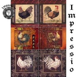 26076. Рисовая декупажная карта  Impressio,  25  г/м2.