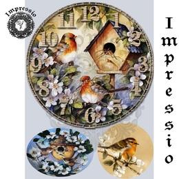 26181. Рисовая декупажная карта  Impressio,  25  г/м2.