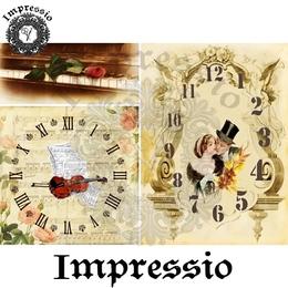 26188. Рисовая декупажная карта  Impressio,  25  г/м2.