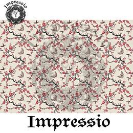26858. Рисовая декупажная карта Impressio.  25 г/м2