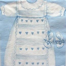 3087.Платье в голубом