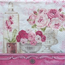 3210. Розовый натюрморт