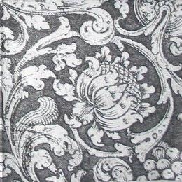 3350. Белый узор на черном. 20 шт., 12 руб/шт