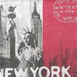 3432. Нью-Йорк. 5 шт., 16 руб/шт