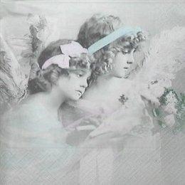 3451. Ангелы с букетом. 5 шт., 33 руб/шт