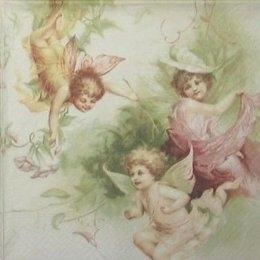 3454. Цветные  ангелы. 5 шт., 31 руб/шт