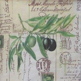 3472. Ветвь с оливками