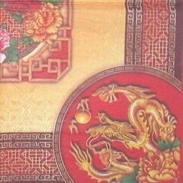 3782. Дракон и пионы