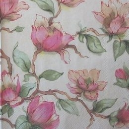 4119. Розовые цветы. 10 шт., 7 руб/шт