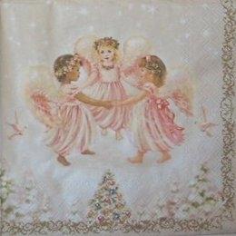 12745. Три ангела и елка. 5 шт., 17 руб/шт