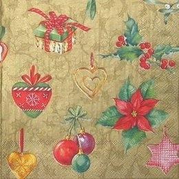 4164.Пуассентия и новогодние мелочи. 5 шт., 12 руб/шт