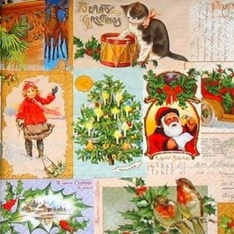 4216. Новогодние открытки. 20 шт., 13 руб/шт