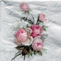 4709. Розы с надписями. 10 шт., 27 руб/шт