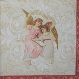 4790. Ангелы с лентой